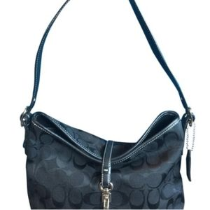 Coach Shoulder Signature Hobo Bag and the Wallet